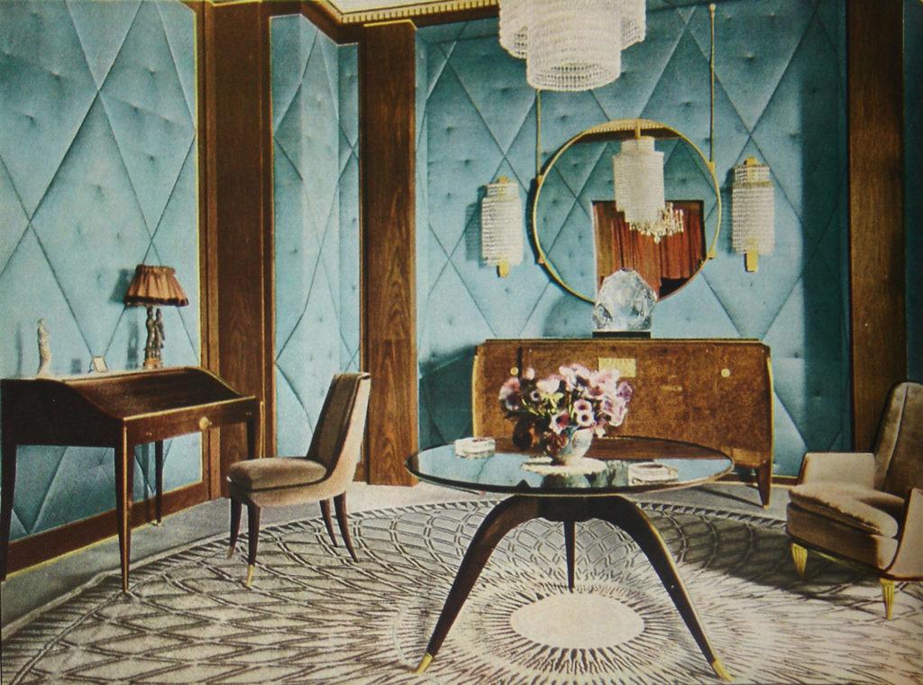 Mobilier Art Deco - designer Emile-Jacques Ruhlmann